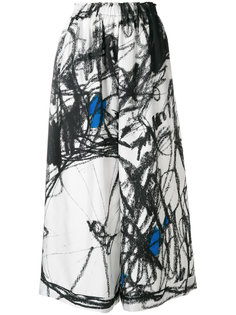 широкие брюки на резинке Daniela Gregis