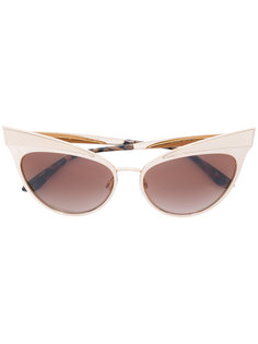 классические солнцезащитные очки кошачий глаз Dolce & Gabbana Eyewear
