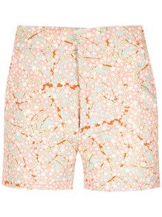 floral print shorts Reinaldo Lourenço