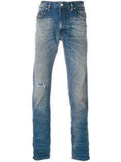 джинсы с эффектом потертости  Diesel