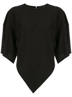 asymmetric blouse Reinaldo Lourenço