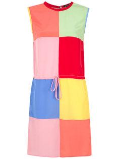 straight silk dress Reinaldo Lourenço