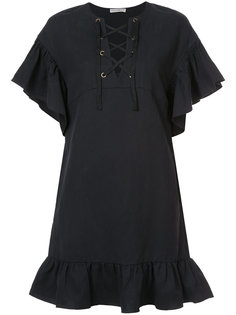 расклешенное платье со шнуровкой Ulla Johnson