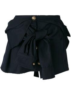 мини-юбка с пуговицами и бантом Faith Connexion