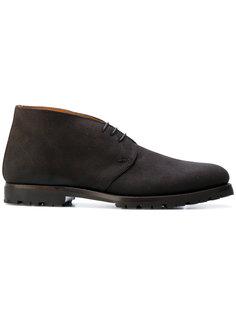 ботинки-дезерты с контрастной подкладкой Andrea Ventura