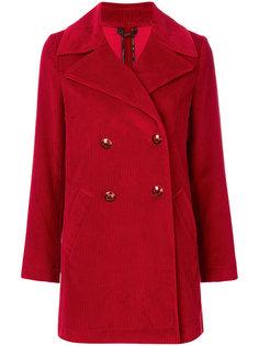 классическое двубортное пальто Etro