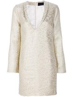 платье с V-образным вырезом Iil7