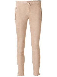 брюки скинни с карманами на молнии  Arma