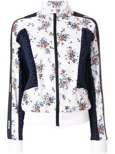 куртка с цветочным принтом  MSGM