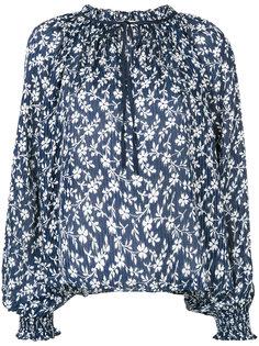 блузка с цветочной вышивкой Ulla Johnson