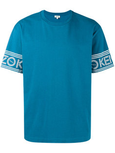 футболка с короткими рукавами и принтом логотипа Kenzo