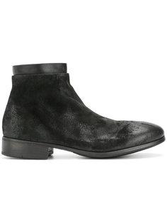 ботинки с поношенным эффектом Marsèll