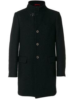 пальто с высокой горловиной Fay