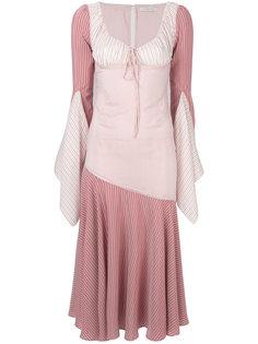 полосатое платье JW Anderson