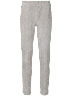 узкие укороченные брюки Woolrich