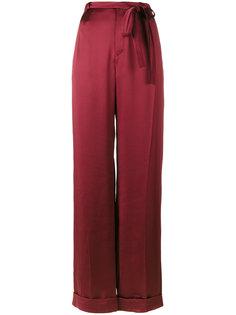 широкие брюки со складками  Valentino