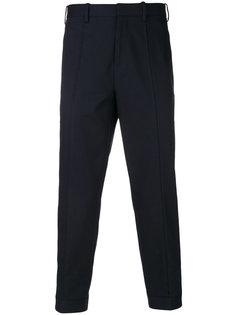 укороченные зауженные брюки Neil Barrett