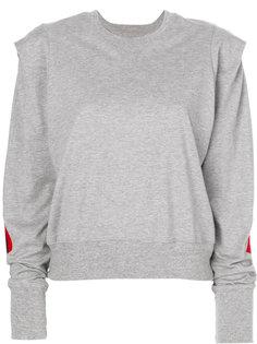 свитер с полосками Facetasm