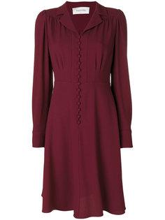 платье с юбкой клеш Valentino