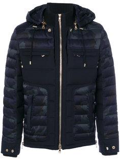 куртка с камуфляжным узором Balmain