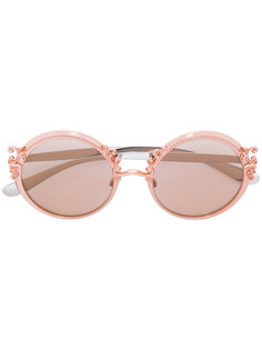 солнцезащитные очки в круглой оправе Dolce & Gabbana Eyewear