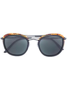 солнцезащитные очки в квадратной оправе Giorgio Armani
