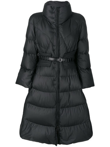 дутое расклешенное пальто  Ermanno Scervino