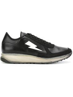 кроссовки с молнией Neil Barrett