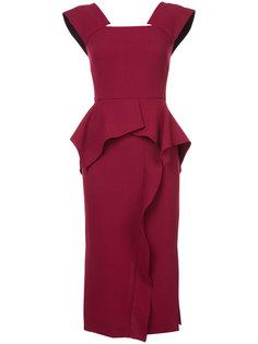 классическое приталенное платье Roland Mouret