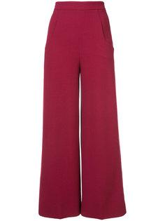 расклешенные брюки с высокой талией Roland Mouret