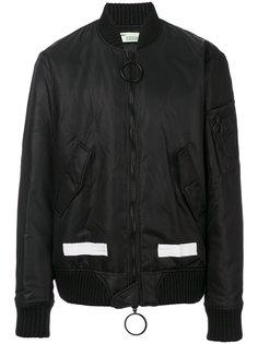 куртка-бомбер на молнии Off-White