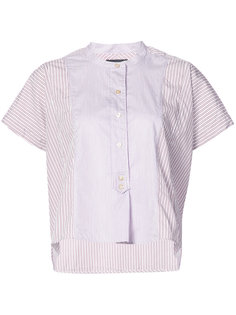 рубашка с короткими рукавами в полоску Isabel Marant