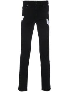 узкие джинсы с полоской Kenzo