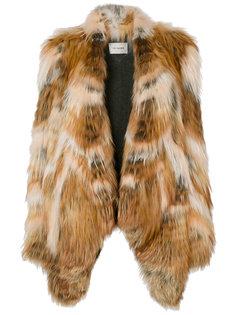 свободное пальто  Yves Salomon