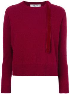 свитер с разрезом на плече  Blugirl
