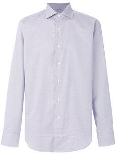 классическая рубашка с мелким узором Canali