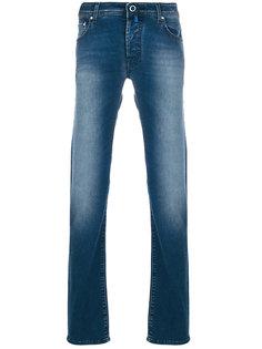 выбеленные джинсы кроя слим Jacob Cohen
