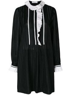 платье с оборками Sonia Rykiel