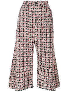 твидовые широкие брюки Sonia Rykiel