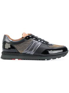 кроссовки с металлизированной отделкой Bally