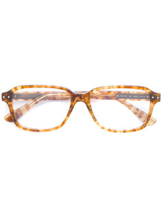 очки в квадратной оправе Bottega Veneta Eyewear