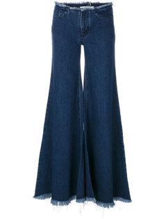 широкие расклешенные джинсы Marquesalmeida