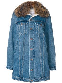 удлиненная джинсовая куртка  Forte Couture