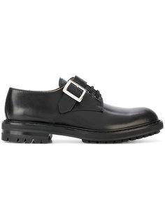ботинки Дерби с пряжкой Alexander McQueen