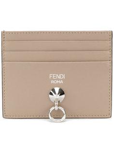 классическая визитница с логотипом Fendi