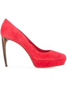 туфли на фигурных каблуках Alexander McQueen