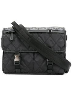 стеганая сумка-мессенджер Prada