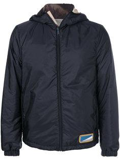 двухсторонняя куртка дизайна колор-блок Prada