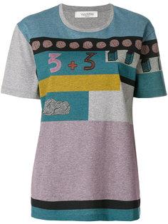 футболка с принтом Valentino