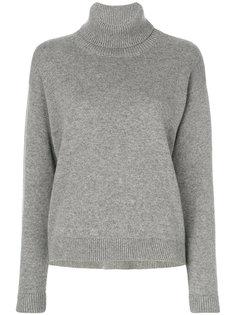 свитер с высоким воротником с заворотом Dolce & Gabbana